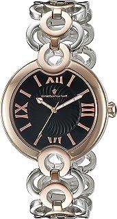 Christian Van Sant Women's CV2815 Analog Display Swiss Quartz Two Tone Watch