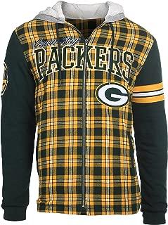 NFL Flannel Hooded Jacket