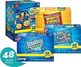 Nabisco Cookies Variety Pack - 48 Individual Snack Pack