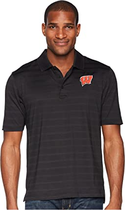 Champion College Wisconsin Badgers Textured Solid Polo
