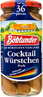 BOKLUNDER Cocktail Wurstchengerman Sausage, 380g