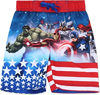 c86497f760c Dreamwave Boys  Authentic Character Swim Trunk UPF 50