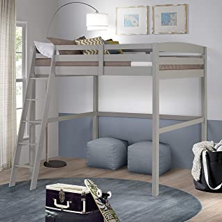 Camaflexi Concord Full Size High Loft Bed Grey