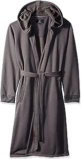 Mens Sweatshirt Style Hooded Robe