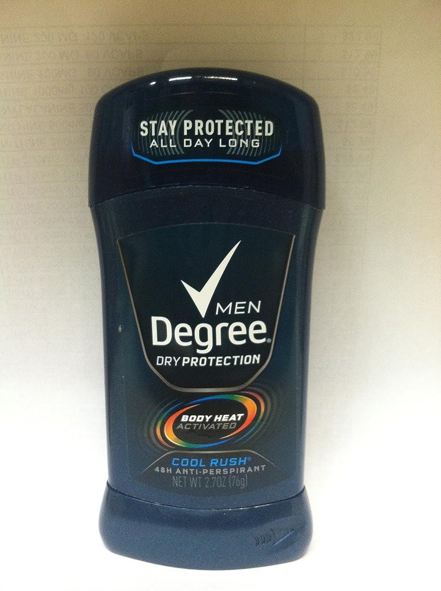 列車ボクシンググリースディグリー Degree 固形 メンズ デオドラント クールラッシュ メンソールの香り 制汗剤 85g