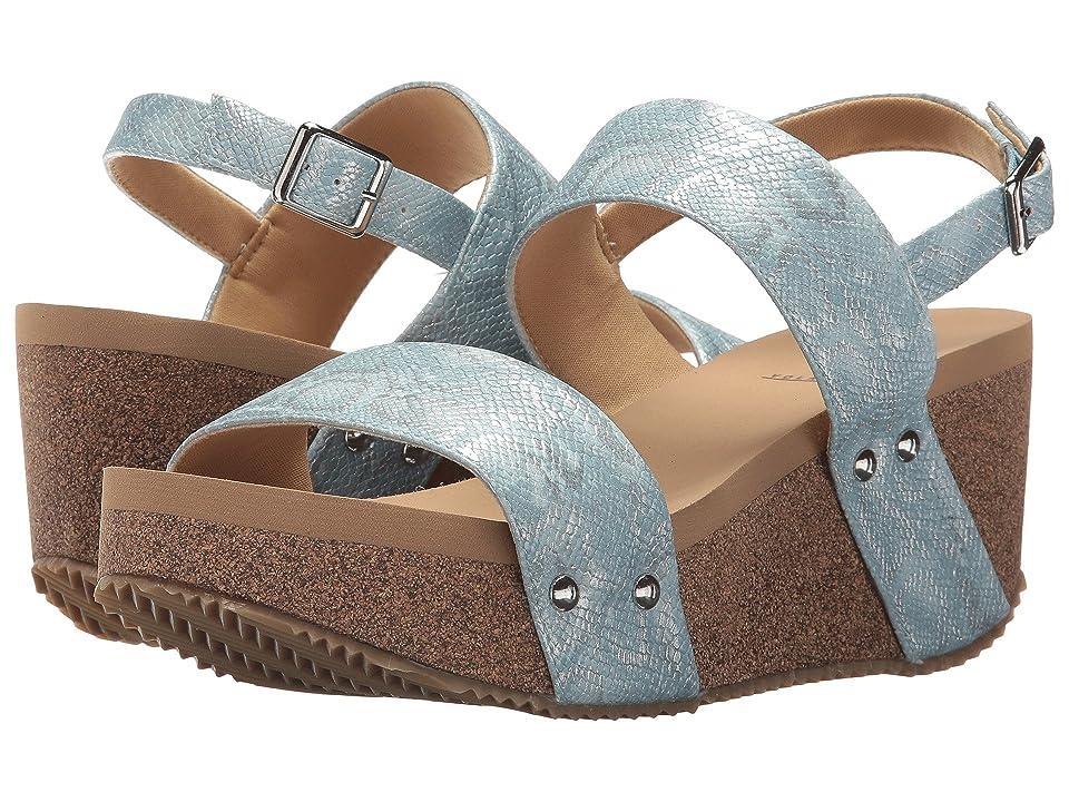 VOLATILE Paolina (Powder Blue) Women's Wedge Shoes