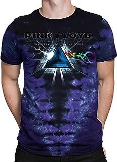 Liquid Blue Men's Pink Floyd Screaming Face Short Sleeve T-Shirt