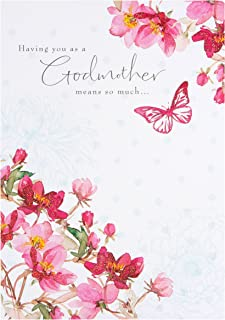 Godmother Birthday Card By Hallmark
