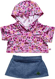 Build A Bear Workshop Girl Scout S'Mores Hoodie & Skirt Set 2 pc.