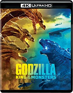 Godzilla: King of the Monsters (4K Ultra HD + Blu-ray + Digital)
