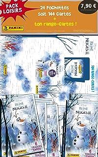 Panini France SA-Disney LA Reine des NEIGES II Pack Loisirs 2021 Frozen Trading Cards 1 Porte Carte + 24 Pochettes, 003804...