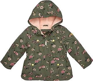 OshKosh B'Gosh baby-girls Midweight Hooded Anorak Jacket Coat