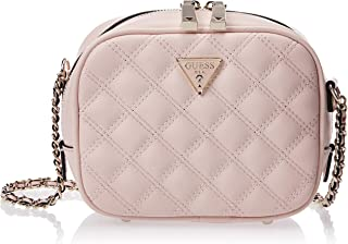 Guess Womens Cross-Body Handbag, Beige - VG767969