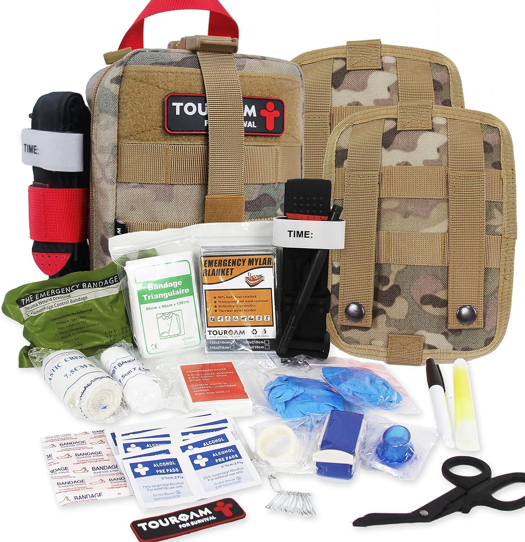 TOUROAM Nippon regular agency IFAK Med Trauma Kit Tactical Molle Emergency Aid San Antonio Mall First