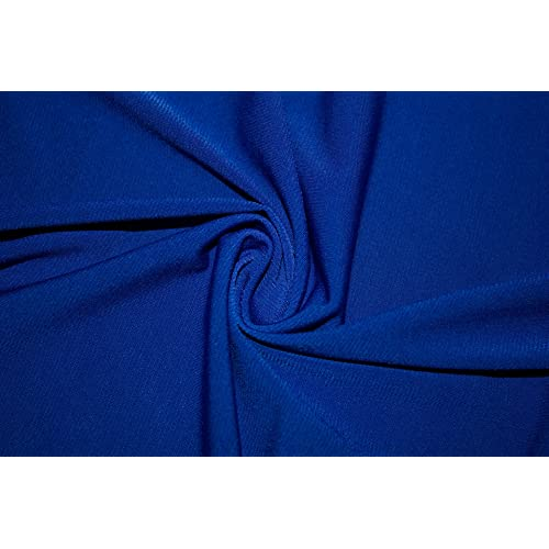 fbbc60e62f0 ITY Solid 2-Way Stretch Knit Polyester Lycra Spandex Apparel Craft Dance  Dress Fabric 56