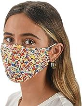 Slumbies! Cloth Face Coverings for Women & Men - Washable Face Coverings - Reusable Face Coverings - Flexible Nose Bridge - Adjustable Ear Bands - 5 Layer Filters Included - Paint Splatter