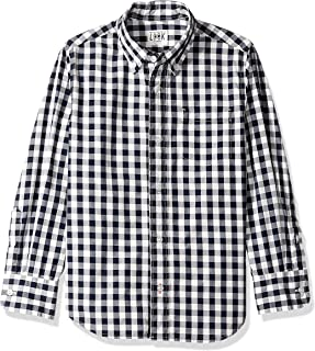 Amazon/ J. Crew Brand- LOOK by crewcuts Boys' Long Sleeve Gingham Shirt