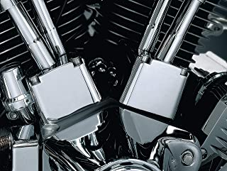 Kuryakyn 8123 Motorcycle Accent Accessory: Tappet Block Covers for 1984-1999 Harley-Davidson Evo Big Twins Motorcycles, Chrome