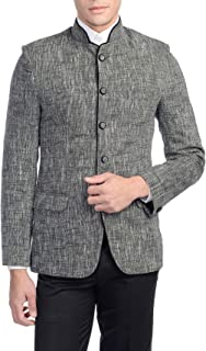 WINTAGE Men's Rayon Bandhgala Festive Nehru Jacket Waistcoat : Multiple Colors