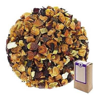 "Núm. 1256: Té de frutas orgánico ""Naranja afrutada"" - hojas sueltas ecológico - 100 g - GAIWAN® GERMANY - manzana, hibisco, rosa mosqueta, regaliz, naranja, remolacha"