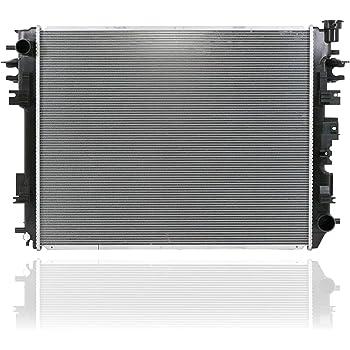 ROADFAR Radiator Compatible for 2009-2010 Dodge Ram 1500 2010 Dodge Ram 2500 2011-2014 Ram 1500 2011-2014 Ram 2500 2011-2014 Ram 3500 2012-2014 Ram Ram 2010-2014 Ram Ram Pickup 13129 CH3010353 13129