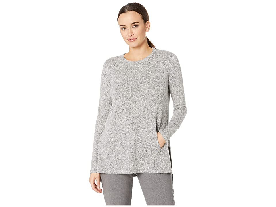 Karen Kane Long Sleeve Pocket Sweater (Heather) Women