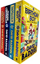 David Baddiel 4 Books Collection Set (Birthday Boy, Animalcolm, The Person Controller, The Parent Agency)