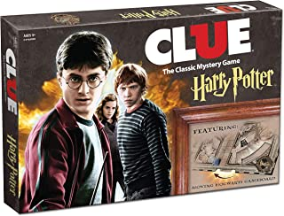 USAOPOLY Clue Harry Potter Board Game   Travel Through Hogwarts Castle to Solve the Mystery   Official Harry Potter Licensed Merchandise   Harry Potter Themed Board Game   Gift for Harry Potter Fans
