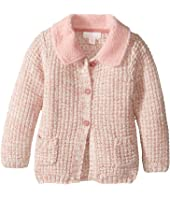 Pumpkin Patch Kids - Fluffy Collar Cardigan (Infant)