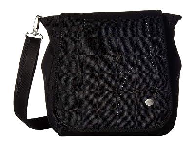 Haiku Wander (Black Juniper) Cross Body Handbags