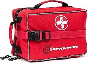 Surviveware Large First Aid Kit & Added Mini Kit