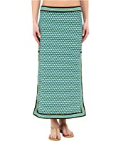 Michael Kors - Mini Deco Cube High Slit Skirt Cover-Up