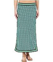 Michael Kors - Mini Deco Cube High Slit Skirt Cover-Up