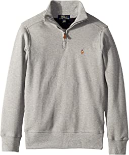 Cotton 1/2 Zip Pullover (Big Kids)