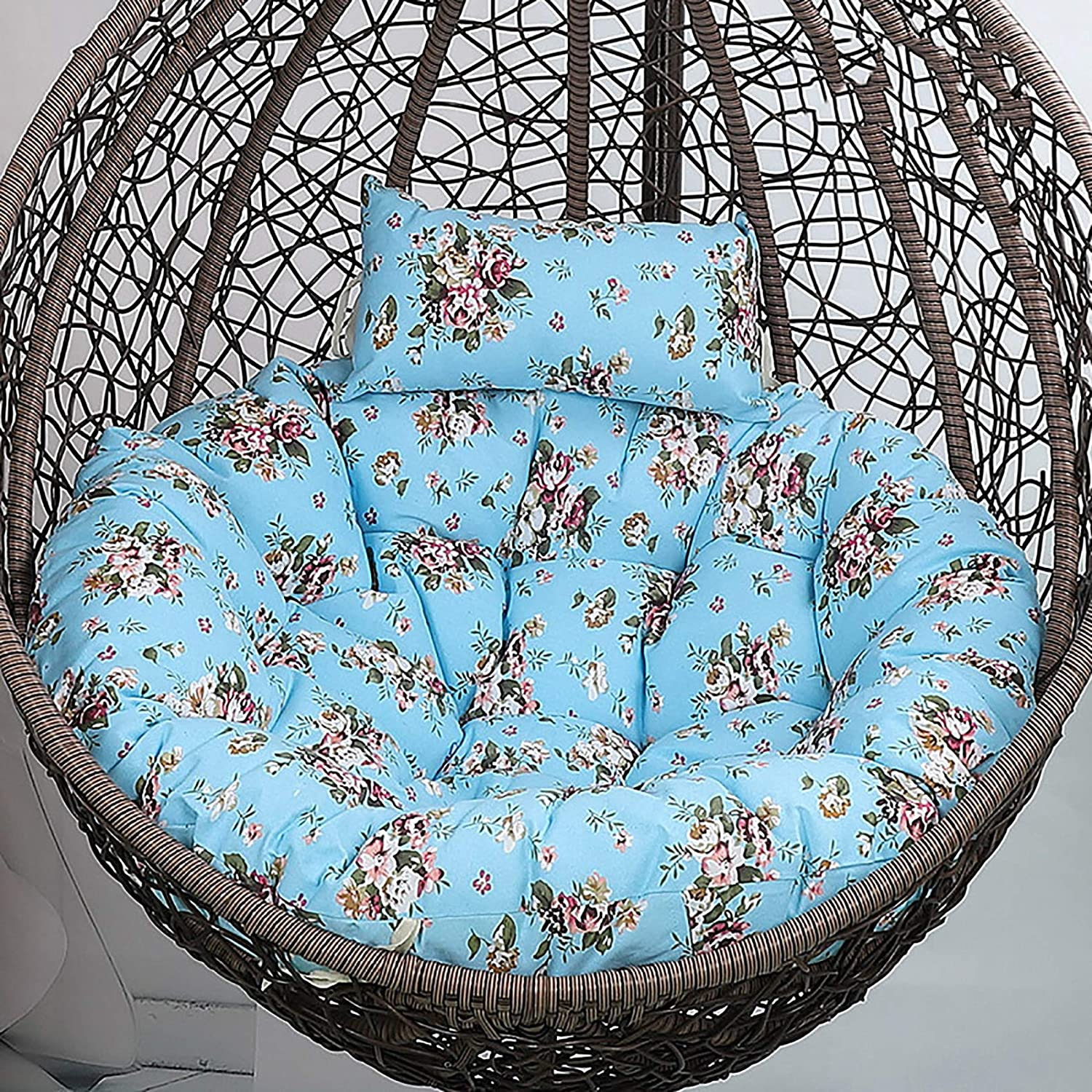 low-pricing HUHAA Nest Swing Pad Hanging Manufacturer OFFicial shop Basket Poly for Seat Cushion