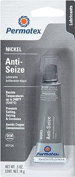 Permatex 77134 Nickel Anti-Seize Lubricant, 0.5 oz Tube: image