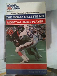 The 1986-87 Gillette NFL Most Valuable Player