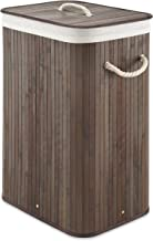 Whitmor Bamboo Hamper w/Rope Handles