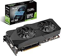 ASUS Dual NVIDIA GeForce RTX 2060 Super EVO V2 OC Edition Gaming Graphics Card (PCIe 3.0, 8GB GDDR6 Memory, HDMI, DisplayP...