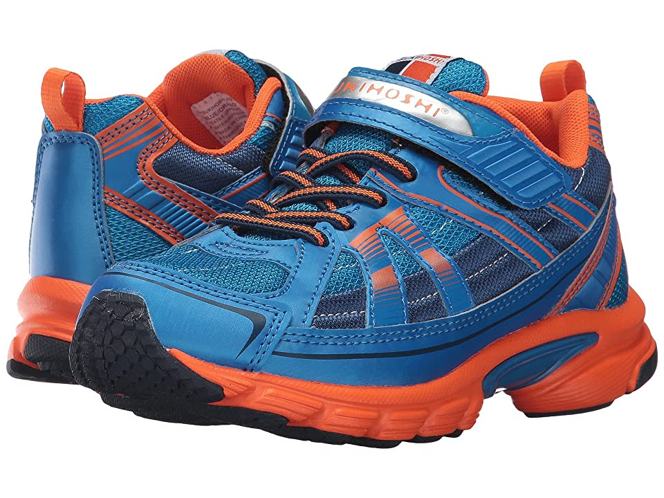 Tsukihoshi Kids Storm (Little Kid/Big Kid) (Blue/Orange) Boys Shoes
