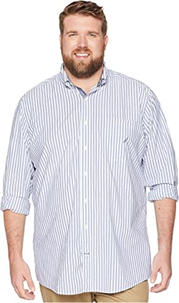Big & Tall Classic Casual Stripe Shirt