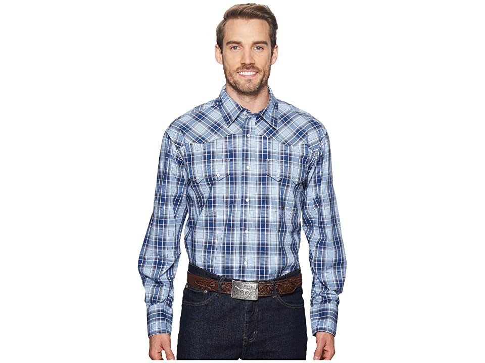 Roper 1524 Vintage Plaid (Blue) Men