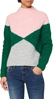 Superdry Super Lux Diamond Ribbed Crew Pull Femme