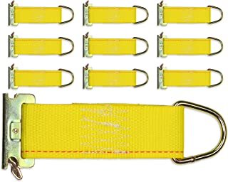 DC Cargo Mall 10-Pack E-Track Rope Tie-Offs, 2