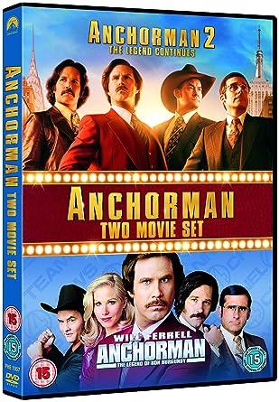 Amazon Com Anchorman 1 2 Dvd Peliculas Y Tv
