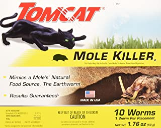 Tomcat Mole Killer Worms 10pk