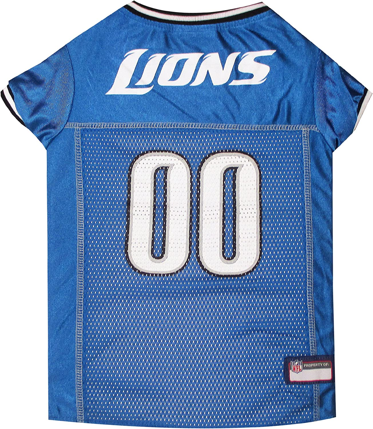 Mirage NFL Detroit Lions Dog Jersey, Small