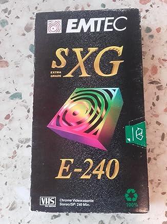 Basf Emtec SXG E-240Cassette vidéo S-VHS