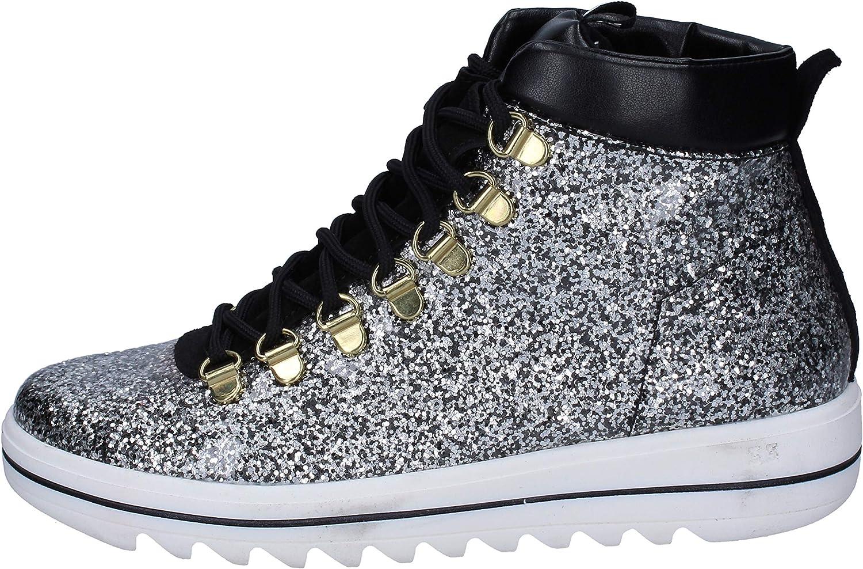 TREPUNTOTRE TREPUNTOTRE TREPUNTOTRE Mode -skor kvinnor silver  100% äkta motgaranti