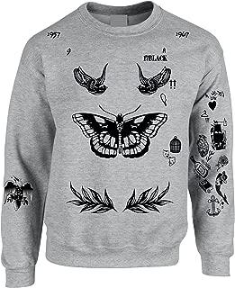 Adult Sweatshirt Harry Tattoos Cool Top Trendy Gift Cute